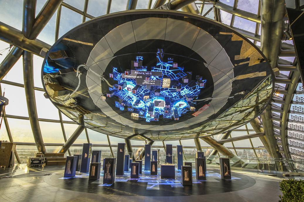Astana, Expo 2017  Padiglione Katzakistan