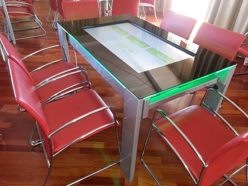 Tavolo tr table prodotti tavoli interattivi touch - Tavoli interattivi ...