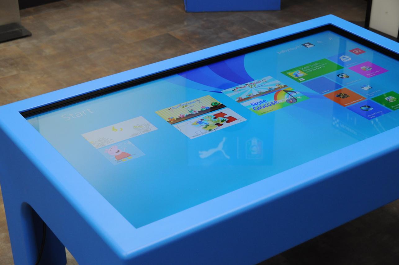 Tavolo baby touch prodotti tavoli interattivi touch - Tavoli interattivi ...