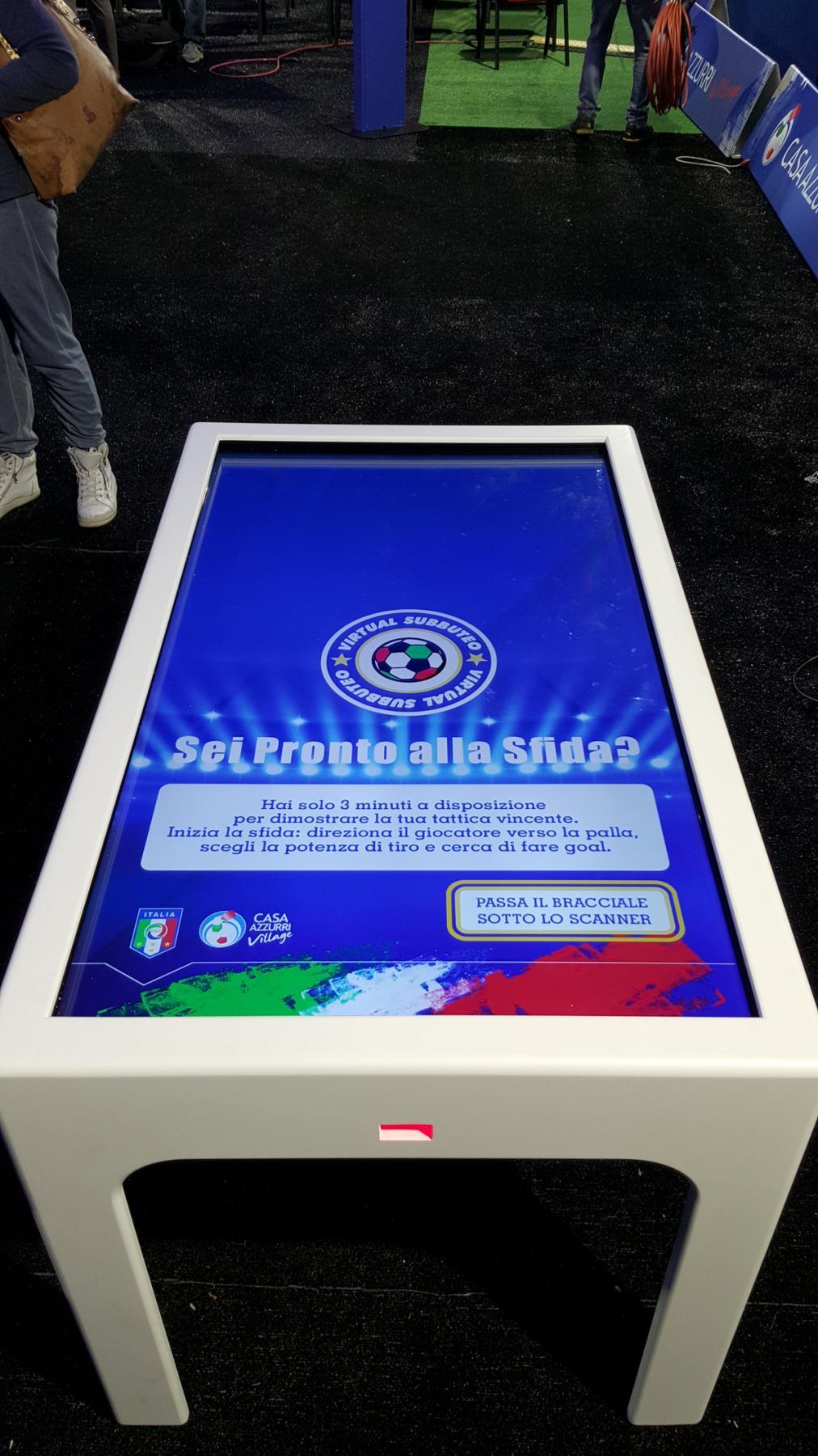 C table prodotti tavoli interattivi touch revolution - Tavoli interattivi ...